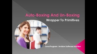 Auto Boxing And Un-Boxing in Java