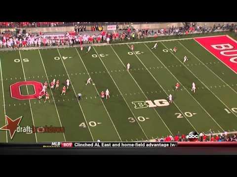 Braxton Miller vs Wisconsin 2013 video.
