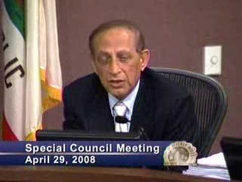 Beverly Hills City Council throwdown
