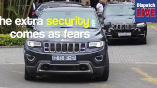 WATCH: President Jacob Zuma's security beefed up