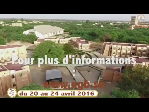 25 ans de l'Université Gaston Berger - Du 20 au 24 avril 2016