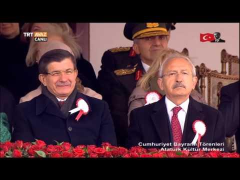 29 Ekim Cumhuriyet Bayramı Törenleri - SOLO TÜRK Gösterisi