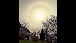 29.03.2012 Sun Halo