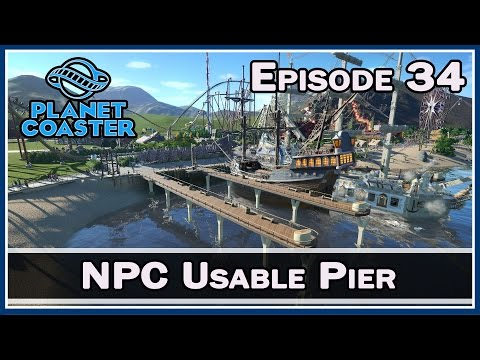 Planet Coaster :: NPC Usable Pier :: E34 :: Z One N Only