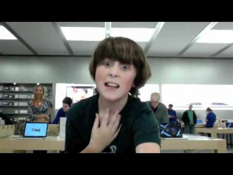 dancing at the apple store - THIS IS THE OFFICIAL APPLE STORE DANCE TO FRIDAY!! ENJOY! http://twitter.com/trevormoran **NO COPYRIGHT INFRINGEMENT INTENDED** Song: Friday Artist : Rebecca...