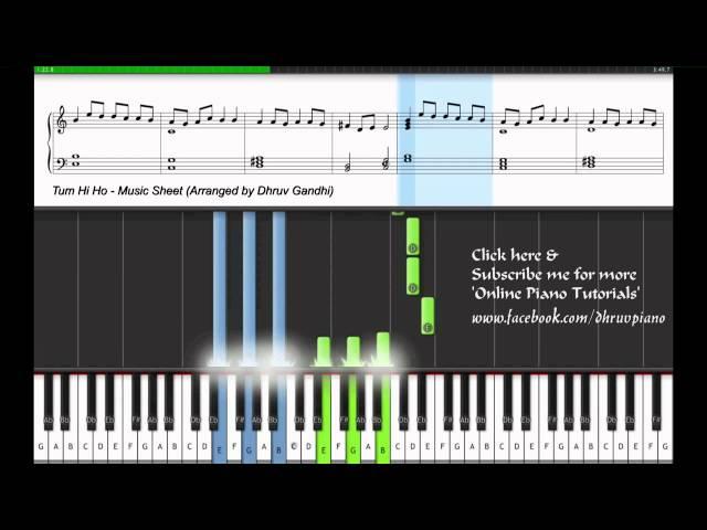 Tum Hi Ho Violin Sheet Music Easy To Play : SenzoMusic.com