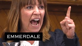 CONTAINS SCENES SOME VIEWERS MAY FIND DISTRESSINGSubscribe now for more! http://bit.ly/1Kyx8Ja Despite the lawyer's rude and abusive questioning, Rhona finds her voice and screams out the truth. Pierce raped her.From episode 7887/88 broadcast on 25/07/17Like, follow and subscribe to the official Emmerdale YouTube channel!Website: http://bit.ly/1E5Pc8w Facebook: http://on.fb.me/1IPeasP Twitter: http://bit.ly/1PahlPe Instagram: http://bit.ly/2fjDejUGet all the latest news from the Emmerdale village on the official YouTube channel and ITV website. You can also watch clips from the show and get previews on new episodes! We'll also have exclusive interviews from the Emmerdale cast, behind the scenes videos and more! Subscribe and make sure you don't miss out.http://www.itv.comhttp://www.stv.tv