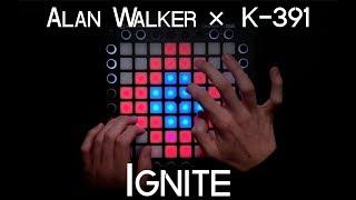 Video Alan Walker ✕ K-391 - Ignite (ft Julie Bergan & Seungri) | Launchpad Pro Cover + Project File MP3, 3GP, MP4, WEBM, AVI, FLV Mei 2018