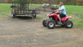 2. 2007 POLARIS PHOENIX 200 ATV WITH REVERSE