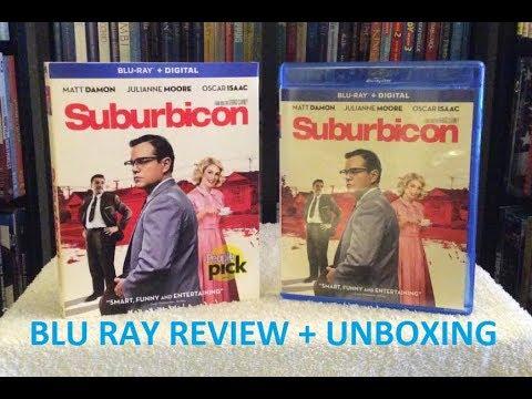 Suburbicon BLU RAY REVIEW + Unboxing - Matt Damon