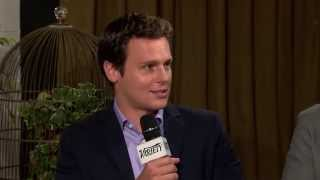 Jonathan Groff Talks About Looking at the Variety Studio Powered by Samsung Galaxy