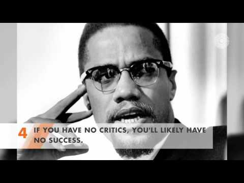 5 of the Best Quotes from Malcolm X Vol 1