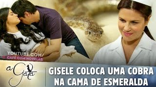 Video A Gata - Gisele coloca uma cobra na cama de Esmeralda MP3, 3GP, MP4, WEBM, AVI, FLV Agustus 2018