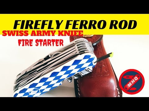 Firefly Fire Starter for your Victorinox Swiss Army Knife Wow!