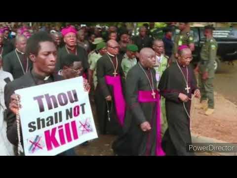 EP.650 NIGERIAN BISHOPS PROTEST BOKOHARAM,HERDSMEN KILLINGS OF CHRISTIANS & INDIGENOUS PEOPLE.