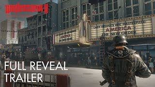 Wolfenstein II: The New Colossus – E3 2017 Full Reveal Trailer (PEGI)