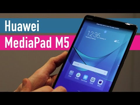 Huawei MediaPad M5 and M5 Pro hands-on - MWC 2018