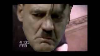 Gunsche Scares Hitler with a screamer