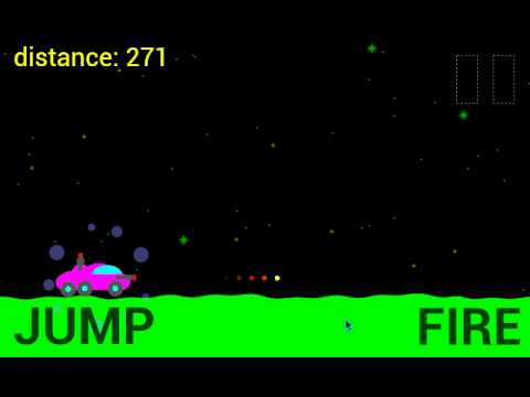 Video of Moon Racer - 2D Retro Shooter