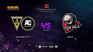 Aachen City vs Bald, TI9 Qualifiers EU, bo1 [Jam & ALOHADANCE]
