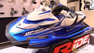 9. 2017 Yamaha GP1800 Jet Ski - Walkaround - Debut at  2016 Salon Nautique Paris