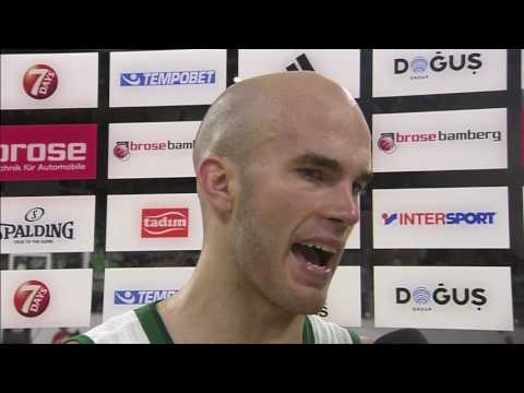 Post-game interview: Nick Calathes, Panathinaikos Superfoods Athens
