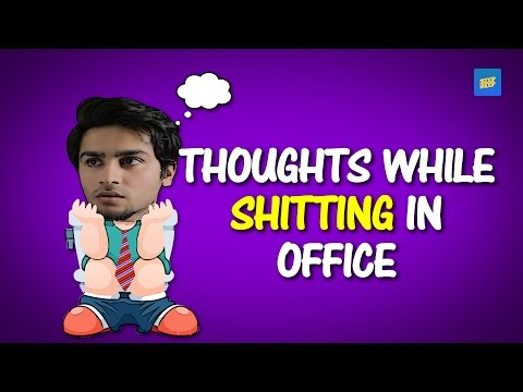 ScoopWhoop: Thoughts While Shitting In Office