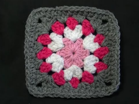 Not So Square Granny - Crochet Tutorial