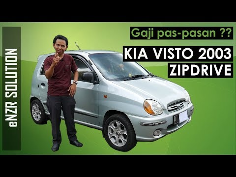 KIA VISTO 2003 Zip Drive Review | Enzr Solution | Indonesia