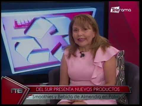 Del Sur presenta nuevos productos Smoothies y Bebida de Almendra en Polvo