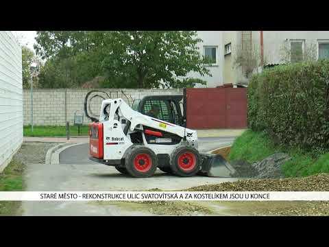 TVS: Staré Město - Rekonstrukce ulic