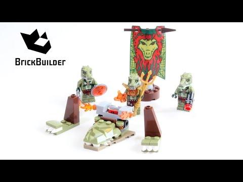 Vidéo LEGO Chima 70231 : La tribu Crocodile