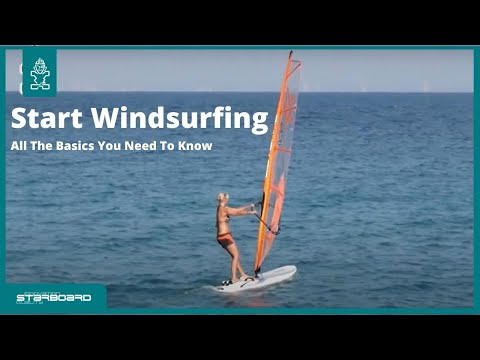Start windsurfing