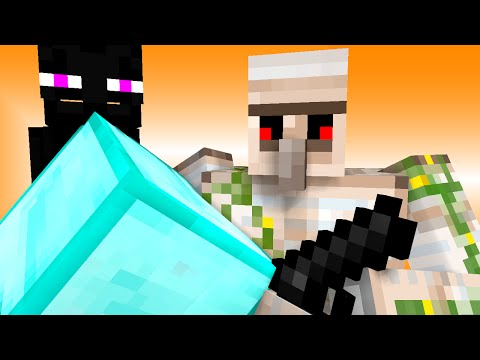 Monster School: Stealing (Minecraft Animation) | stampylongnose stampylonghead