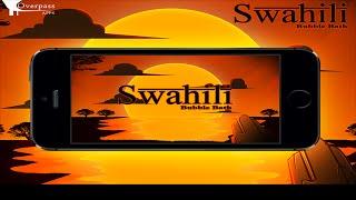 Learn Swahili Bubble Bath Game YouTube video