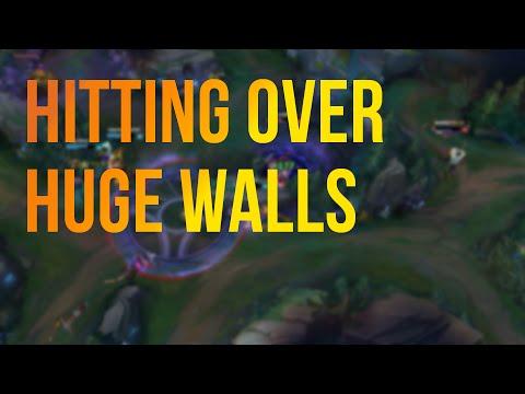 隔牆打人-近戰英雄隔牆打得到人