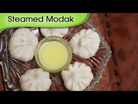 Ukdiche Modak – Steamed Modak – Sweet Coconut Dumpling – Ganesh Festival Special Sweet Dish Recipe
