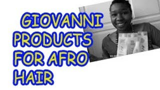 This is a review of all the Giovanni products I love and hate. Just another video from my old channel BrownsugarLdn.The blog address at the beginning and end ...