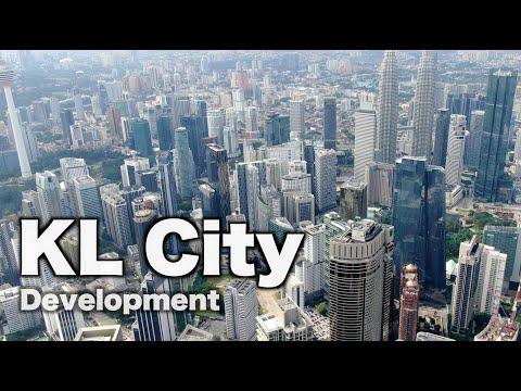 Rising of Kuala Lumpur City Centre, Malaysia