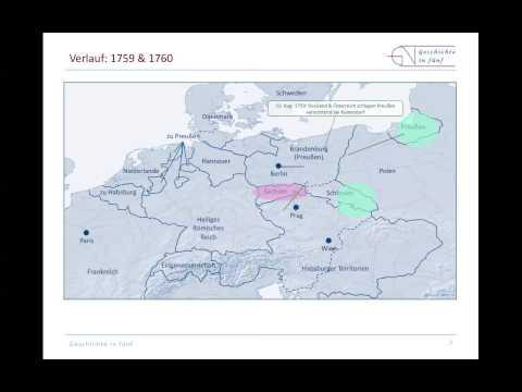 Der Siebenjährige Krieg in Europa (1756-1763) - Preußen ...