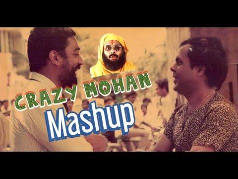 Crazy Mohan Comedy Mashup I SOORIYAN FM  Crazy Mohan Comedy Mashup | Crazy Mohan Comedy Dialogues Mashup | Crazy Mohan Comedy | Sooriyanfm