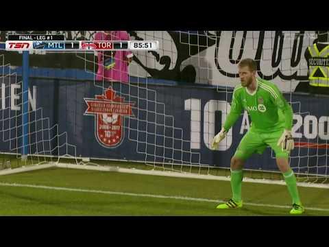 Video: Match Highlights: Toronto FC at Montreal Impact: 1st-Leg - June 21, 2017