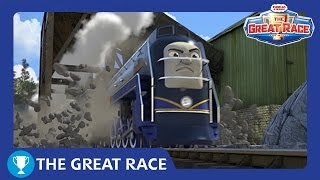 The Great Race: Vinnie of North America | The Great Race Railway Show | Thomas & Friends