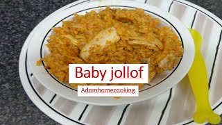 How To Prepare Jollof  For Your  Toddlers