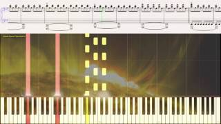 Adagio in D minor - John Murphy (Ноты и Видеоурок для фортепиано) (piano cover)