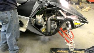 9. 2012 Polaris Switchback Assault 800 GGB Mountain Muffler