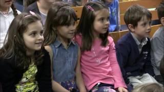 Итальянские студенты в гостях у детей-билингвов