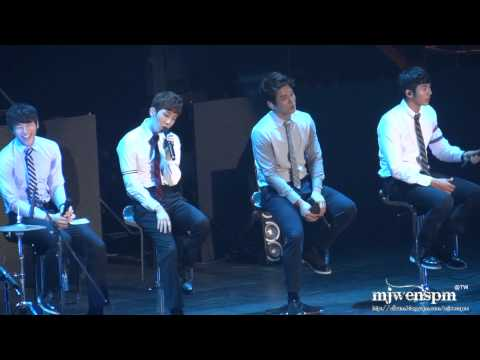 20121013 2AM concert in Taiwan Taipei – red bean 紅豆 (Chinese song)