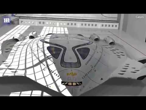 צפו:המטוס הגרעיני הראשון בעולם