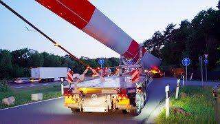 Abfahrt von drei riesigen Windradflügel-Schwertransportern auf der Autobahnraststätte Garbsen an der A2. Für den Transport der Rotorblätter kommen 4-fach teleskopierbare Auflieger der Firma Nooteboom zum Einsatz.Abonnieren: https://www.youtube.com/channel/UCrCLYgLx7x52o0Otv-8BZpg?sub_confirmation=1Facebook: https://www.facebook.com/HD1080ideTwitter: www.twitter.com/HD1080ide